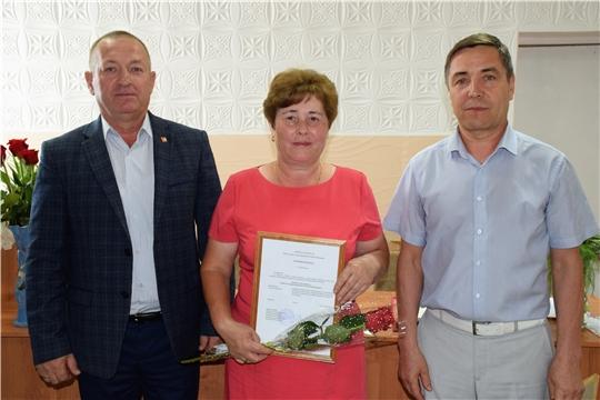 В Красночетайской районной больнице прошло чествование сотрудников отрасли здравоохранения района