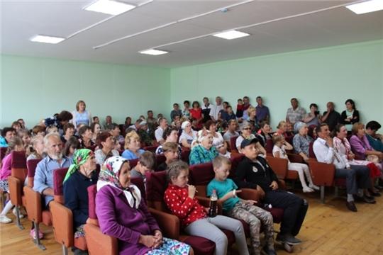 В день Святой Троицы в деревне Шоля отпраздновали День деревни