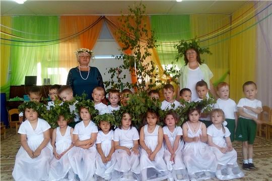 """В детском саду отметили народный праздник """"Троица"""""""