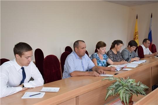 Заседание комиссии по повышению устойчивости социально – экономического развития района
