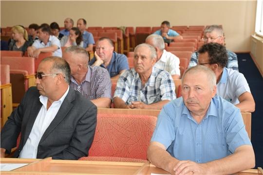 Народные избранники Красночетайского района собрались на очередное заседание