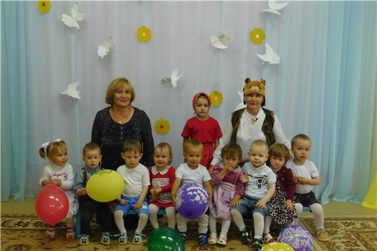 """В детском саду """"Рябинушка"""" прошел праздник «Маша и медведь в гостях у ребят»"""