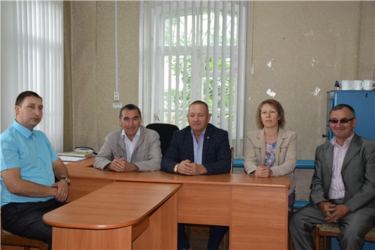 Представлен новый начальник Красночетайской районной станции по борьбе с болезнями животных