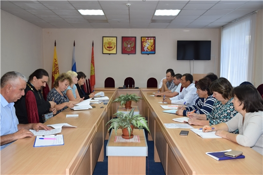 На совещании с главами сельских поселений обсудили ход реализации проектов инициативного бюджетирования