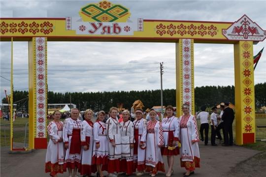 Красночетайцы - участники Всероссийского праздника чувашской культуры «Уяв» в Аксубаевском районе Республики Татарстан