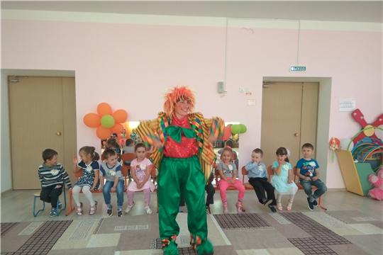 В детском саду отметили праздник «День семьи, любви и верности»