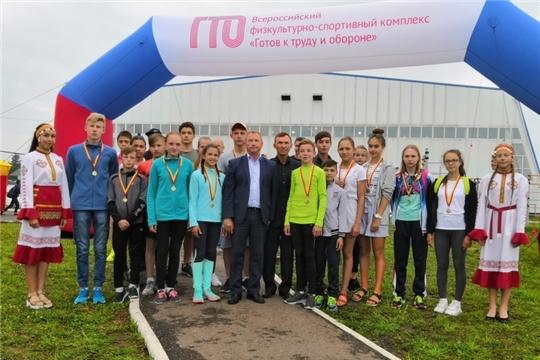 Красночетайские спортсмены в очередной раз отличились на республиканском фестивале
