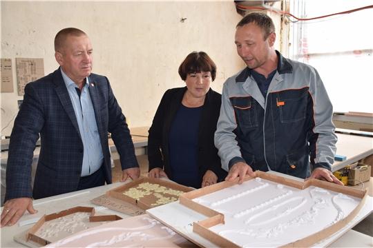 В Красночетайском районе третий год успешно функционирует производственный цех по изготовлению межкомнатных дверей