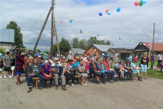 Жители деревни Новые Атаи отпраздновали День деревни