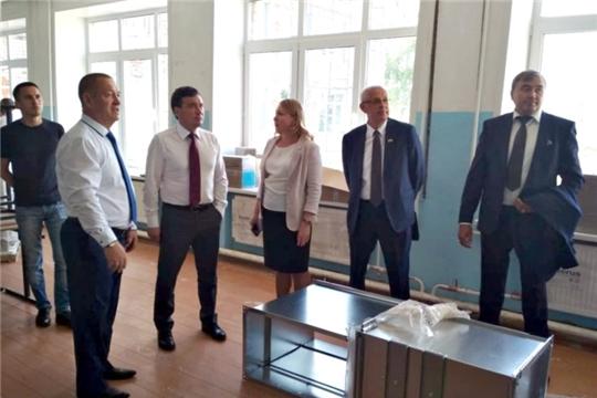 В Красночетайском районе с рабочим визитом находится Председатель Кабинета Министров Чувашской Республики Иван Моторин