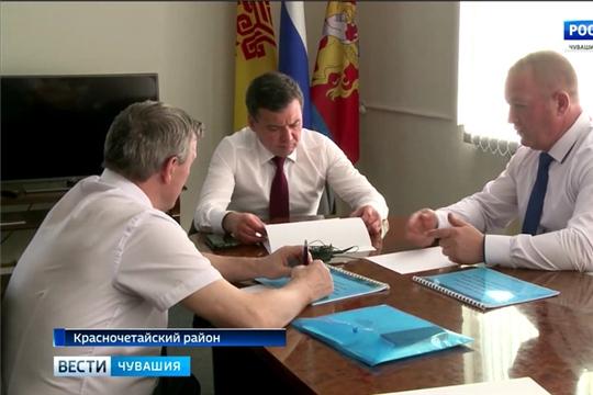 В Красночетайском районе подвели итоги социально-экономического развития за первое полугодие текущего года