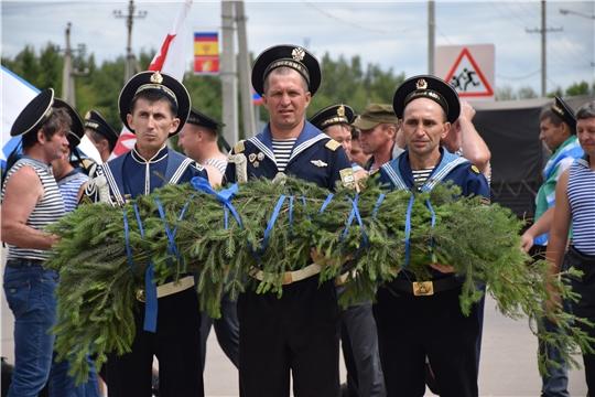 Ветераны военно-морского флота отметили свой любимый праздник - день ВМФ