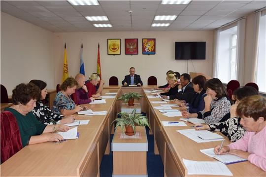 На очередном совещании с главами сельских поселений обсуждены актуальные вопросы