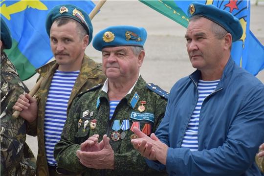 Красночетайский район: есть десантные войска, и нет задач невыполнимых