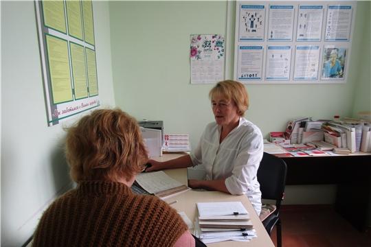 В Красночетайской районной больнице состоялся Единый день диспансеризации