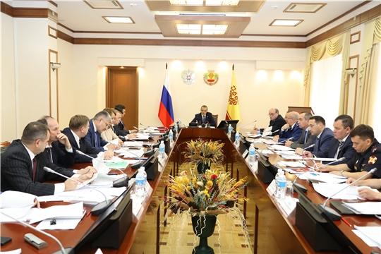 Глава Чувашии Михаил Игнатьев провел заседание Координационного совещания по обеспечению правопорядка