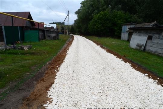 Строительство грунтовой дороги по ул.Иванова в с.Пандиково завершено