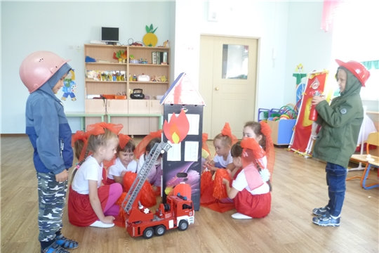 Неделя безопасности в детском саду