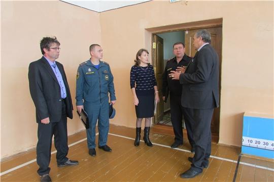 Красночетайские образовательные учреждения проверяют на готовность к новому учебному году