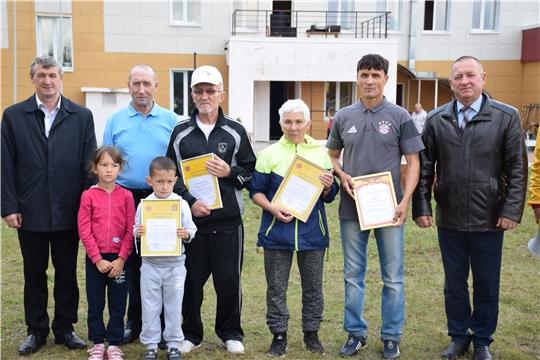 В селе Красные Четаи состоялся большой и зрелищный спортивный праздник, посвященный Всероссийскому Дню физкультурника