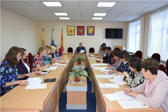 Состоялось еженедельное совещание с главами сельских поселений района