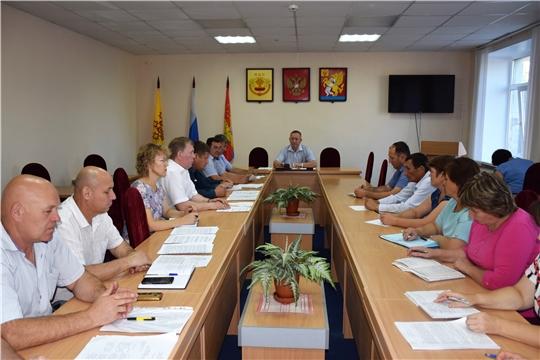 Прошло совместное заседание антитеррористической комиссии и комиссии по чрезвычайным ситуациям и пожарной безопасности