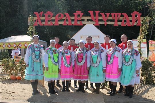 Красночетайцы - активные участники фестиваля «Гостеприимная Чувашия»