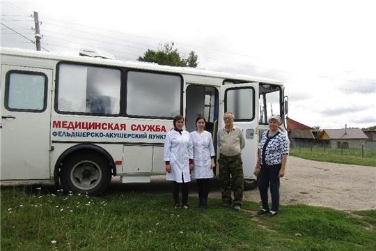 """В Красночетайском районе заработал новый мобильный ФАП, поступивший по нацпроекту """"Здравоохранение"""""""