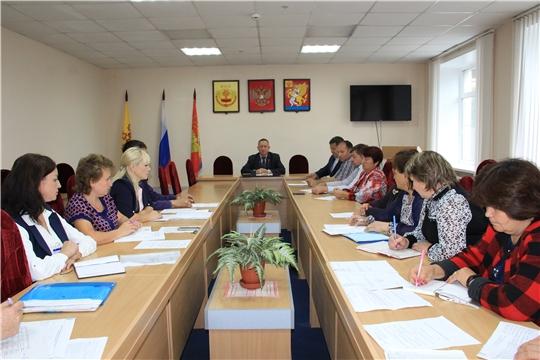 Еженедельное совещание с главами сельских поселений