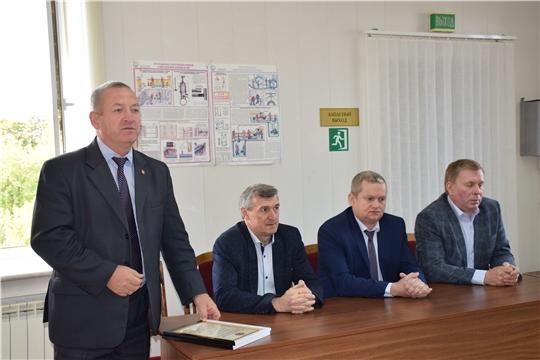 Красночетайские газовики отметили профессиональный праздник
