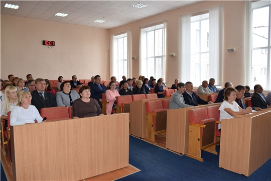 Состоялось очередное тридцать девятое заседание Собрания депутатов Красночетайского района