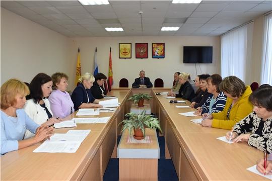 Прошло совещание с главами сельских поселений