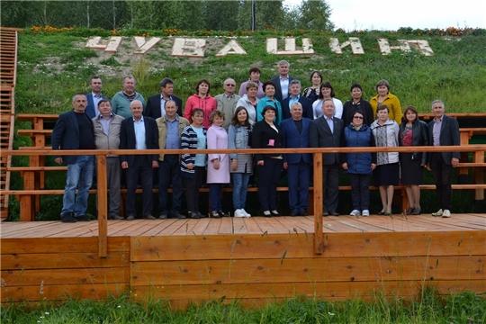 С целью обмена опытом Алатырский район посетила делегация из Красночетайского района