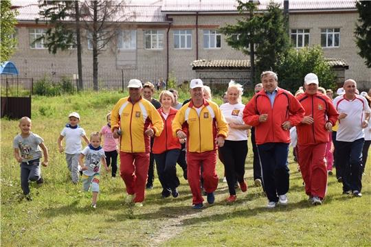 В Красночетайском районе состоялся первый этап Фестиваля спорта прессы Чувашии