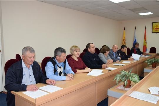 Очередное заседание антинаркотической комиссии в Красночетайском районе