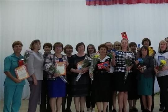 В Красночетайской школе отметили профессиональный профсоюзный праздник