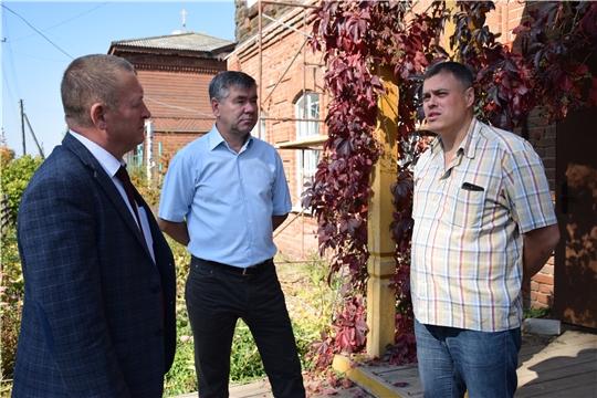 В Красночетайском районе идет реставрация объекта  культурного наследия - здания народного музея