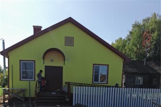 Близится к завершению строительство нового фельдшерско-акушерского пункта в деревне Яманы