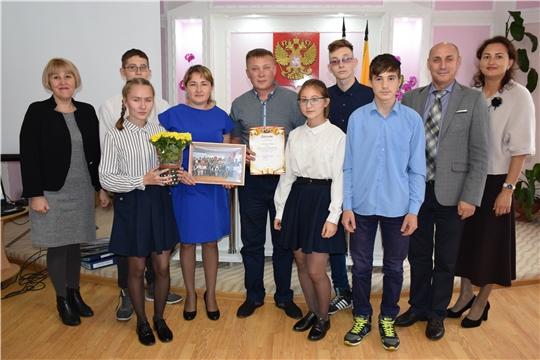 Семья Барышниковых представит Красночетайский район на республиканском конкурсе «Семья года – 2019»