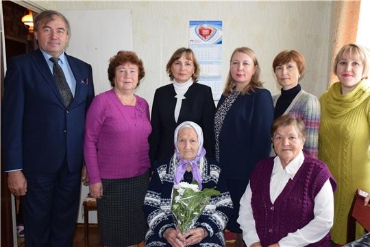 90-летний юбилей учителя