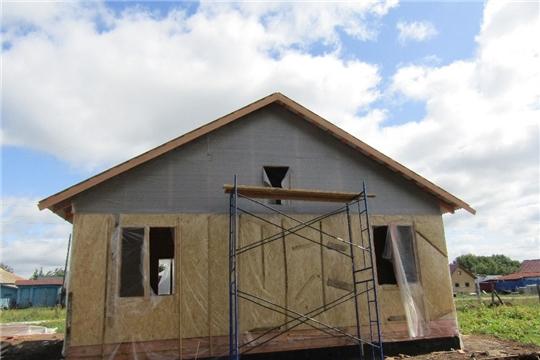 Продолжаются работы по строительству современного модульного фельдшерско-акушерского пункта в д.Яманы