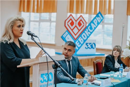 Алла Салаева на встрече «Открытый город»: «Город Чебоксары – это мы, его жители, и нам решать, каким ему быть сегодня!»