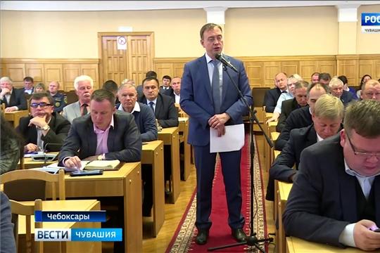 В чебоксарской мэрии обсудили выполнение плана по ремонту дорог