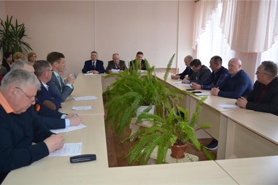 Состоялось заседание Мариинско-Посадского районного Собрания депутатов