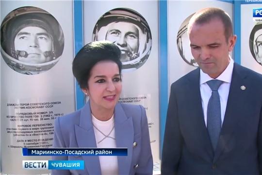 Дочь Андрияна Николаева Елена посетила родину своего отца