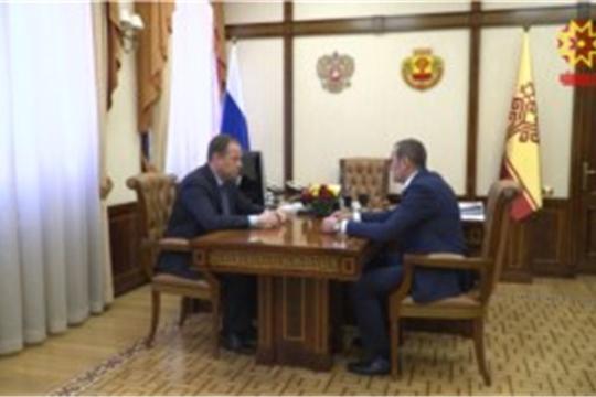 Чувашию с официальным визитом посетил Полномочный представитель Президента России в ПФО