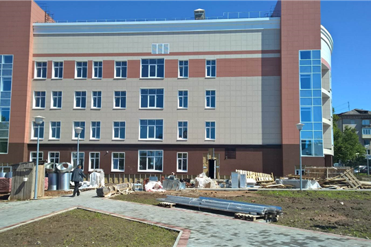 Строительство многопрофильной поликлиники Центральной городской больницы