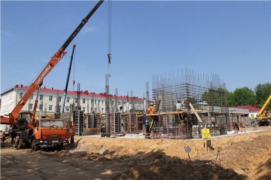 Строительство инфекционного корпуса Городской детской больницы №2