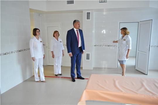 В Городской клинической больнице № 1 после капитального ремонта открылось отделение амбулаторной хирургии