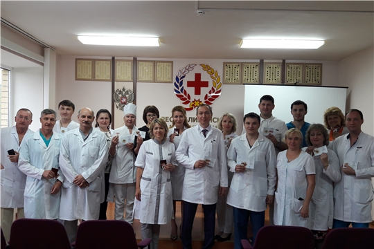 Сотрудники Госпиталя для ветеранов войн удостоены знаков отличия «ГТО»